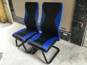 Ghế chân quỳ Game thủ màu xanh đen.