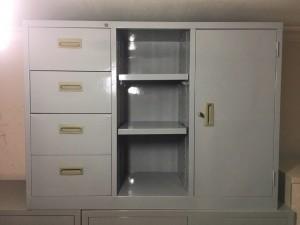 Tủ sắt hồ sơ thấp hoà phát thanh lý