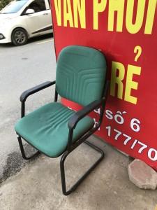Ghế họp chân quỳ Hòa phát màu xanh thanh lý giá rẻ