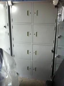 Thanh lý tủ sắt locker 8 ngăn mới 100%