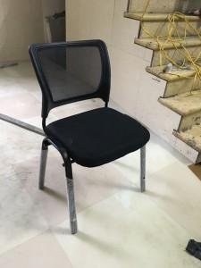 Ghế chân sắt đệm lưới không tay (họp hoặc làm việc) Giá rẻ