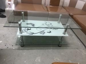 Bàn kính sofa giá gốc loại 3 tầng kính
