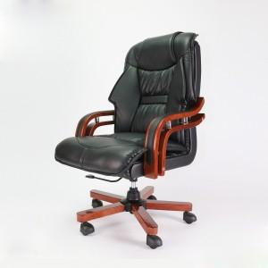 Ghế giám đốc tay gỗ mã TQ21 Mới 100%