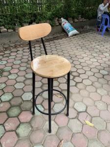 Dọn kho: Bán thanh lý 4 ghế quầy bar gỗ còn đẹp giá rẻ