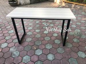 Tổng hợp: Thanh lý bàn chân sắt mặt gỗ giá rẻ 1200×500